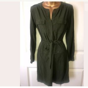 Banana Republic size 0 olive green dress
